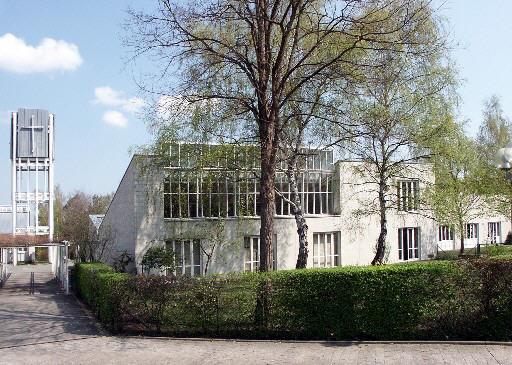 Außenansicht der Martin-Niemöller-Kirche