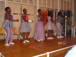 Acapella-Konzert von fünf Musikerinnen aus Südafrika, 19.11.2013