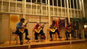 Gitarrenkonzert mit dem Machado Quartett in der Martin-Niemöller-Kirche am 18.1.2015